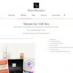 Gift box - shop page