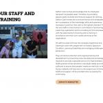 Staff and training