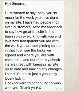 charlotte-testimonial-screenshot
