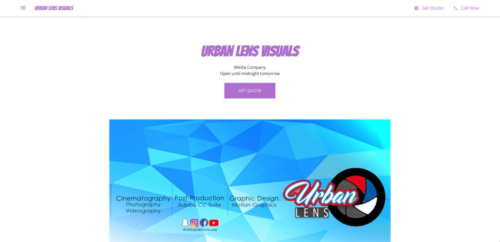Urban lens visuals - Before