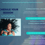 Contact page book a session