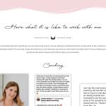 Homepage testimonials screenshots